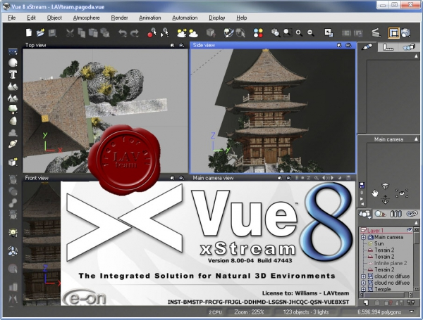 e-on Vue 8 xStream v8.00.04.47443