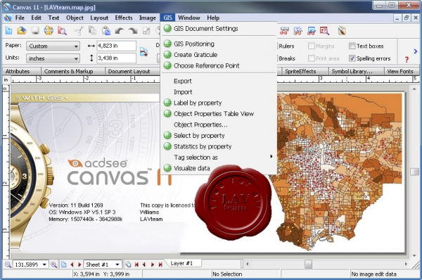 ACD Systems Canvas with GIS+ v11 build 1269