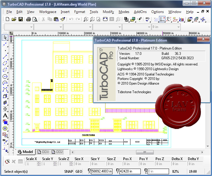 IMSI TurboCAD Pro Platinum v17.0 build 36.3