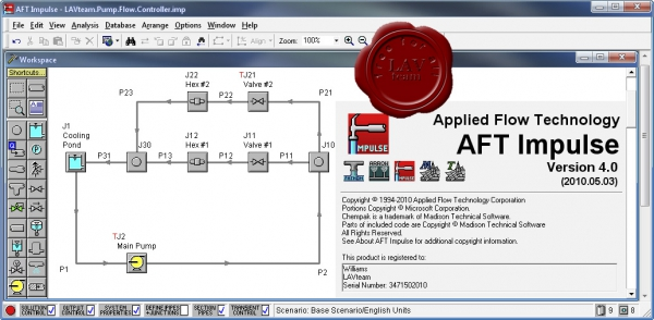Applied Flow Technology Impulse v4.0.2010.05.03
