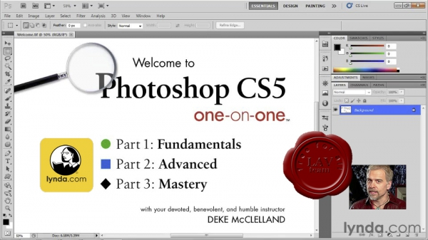 Lynda.com - Photoshop CS5 One-on-One: Fundamentals