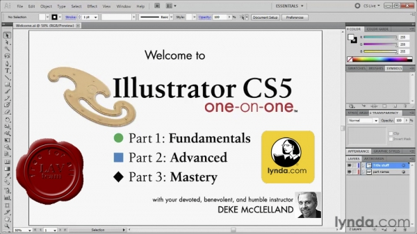 Lynda.com - Illustrator CS5 One-on-One Fundamentals with Deke McClelland