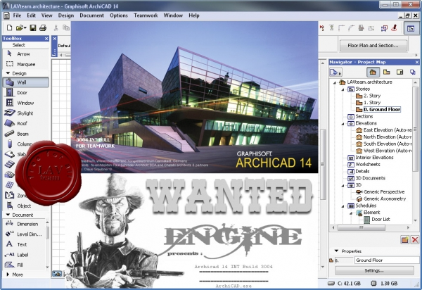 Graphisoft Archicad v14.0 build 3004 INT