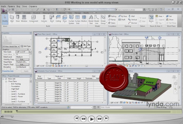 Lynda.com - Revit Architecture 2011 Essential Training