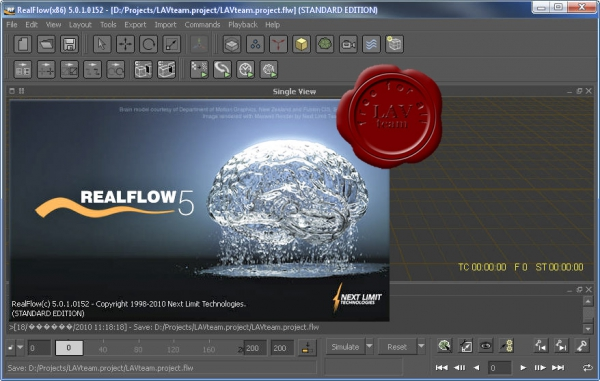 NextLimit RealFlow v5.0.1.0152 + RenderKit v2.0.21.3 + video lessons