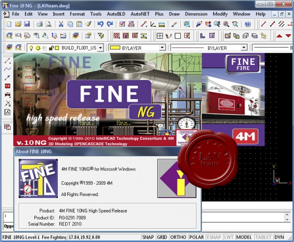 4M IntelliCAD Fine FIRE 10 NG v6.6.59.3