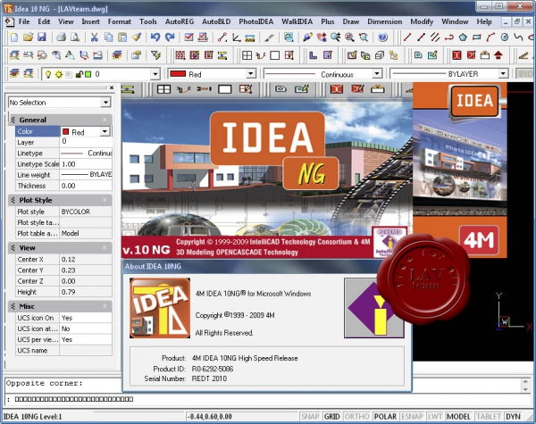 4M IntelliCAD IDEA 10 NG v6.6.59.3
