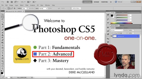 Lynda.com - Photoshop CS5 One-on-One: Advanced