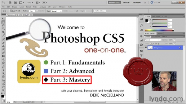 Lynda.com - Photoshop CS5 One-on-One: Mastery