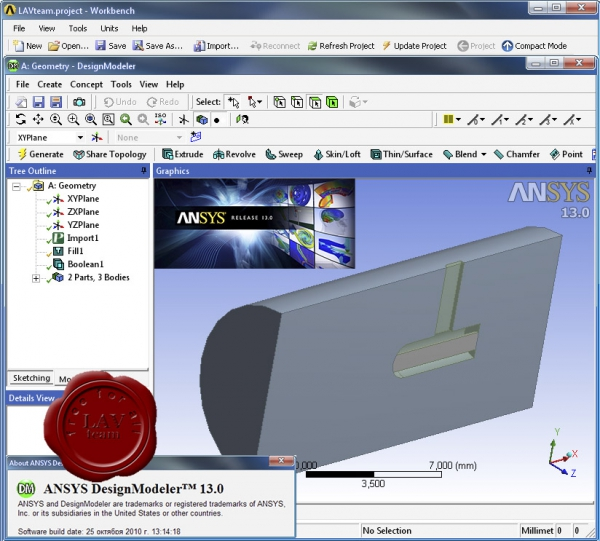 ANSYS v13.0 Multiphysics x64