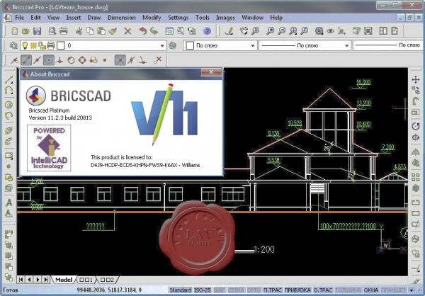 Bricsys Bricscad Pro v11.2.3.20813 english