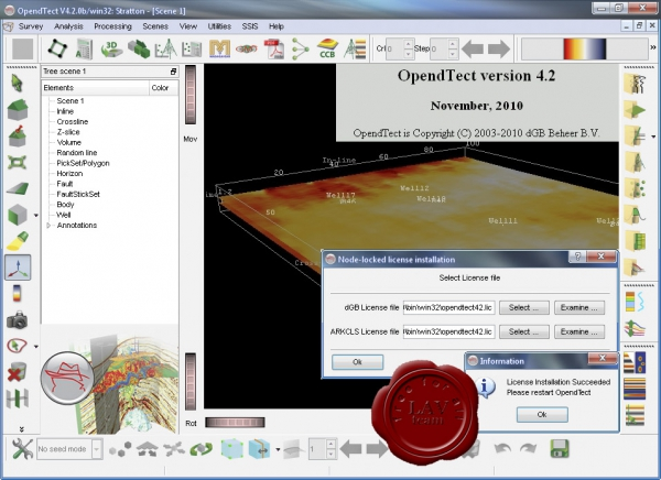 dGB Earth Sciences OpendTect v4.2