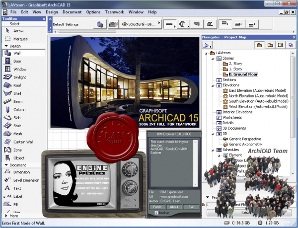 Graphisoft Archicad v15.0.0.3006