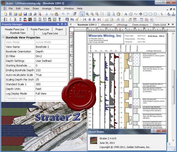 Golden Software Strater v2.4.615