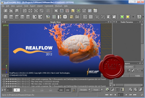 Next Limit ReaFlow 2012 v6.0.0.0055