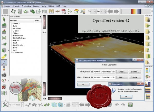 dGB Earth Sciences OpendTect v4.2.0c