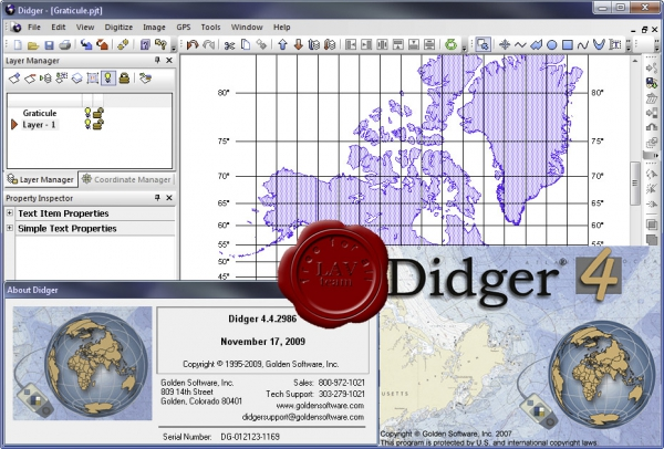 Golden Software Didger v4.4.2986