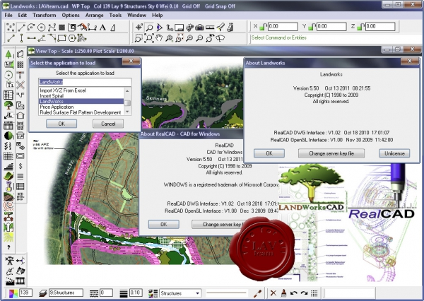 CAD International Landworks Pro v5.90