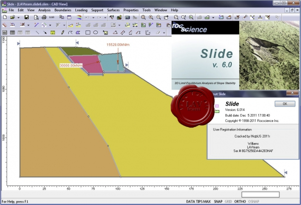 Rocscience Slide v6.014