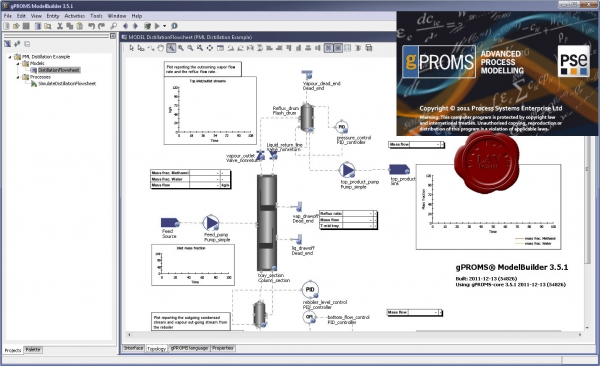 Process Systems Enterprise gPROMS v3.5.1.54826