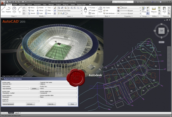 Autodesk AutoCAD 2013 english
