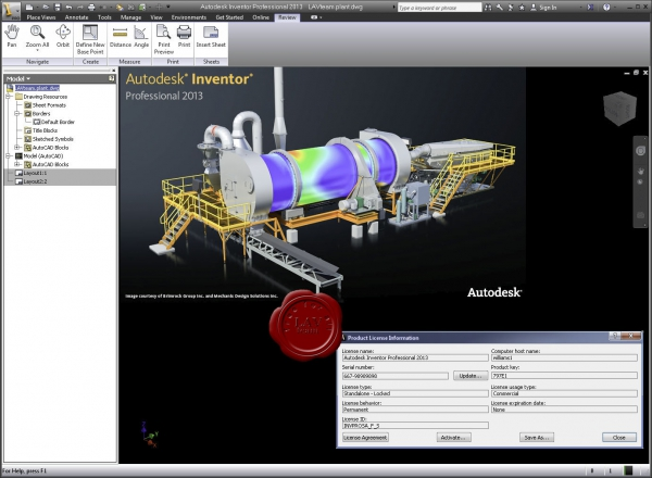 Autodesk Inventor Professional 2013 x86+x64 english