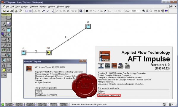 Applied Flow Technology Impulse v4.0.2012.03.22