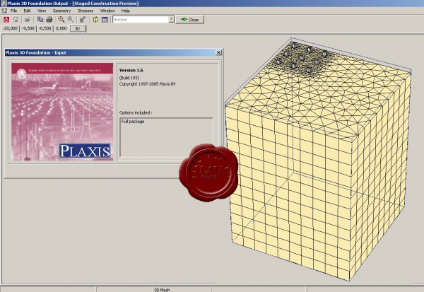 Plaxis 3D Foundation v1.6.0.193