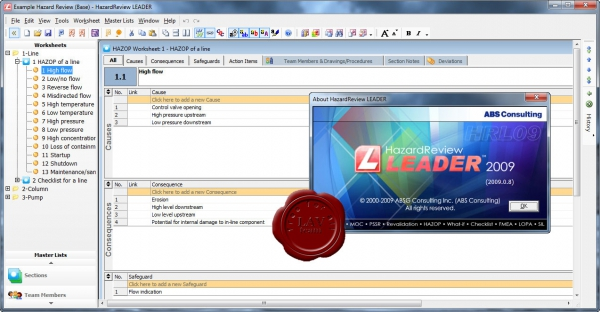 ABS Consulting HazardReview LEADER v2009.0.8