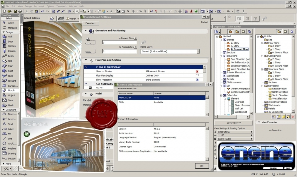 Graphisoft Archicad v16.0.0.3006