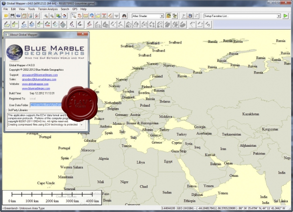 Global Mapper v14.0.0 build 091212
