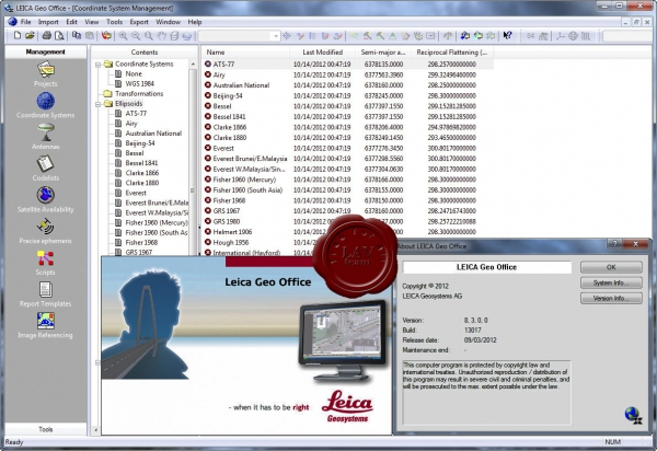 Leica Geo Office v8.3.0.0.13017