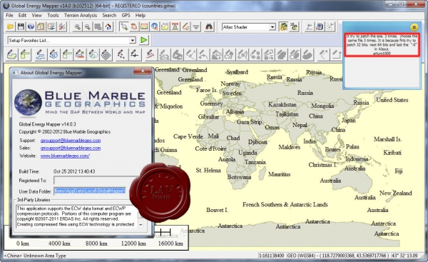 Global Energy Mapper v14.0.3 build 102512 english x86+x64