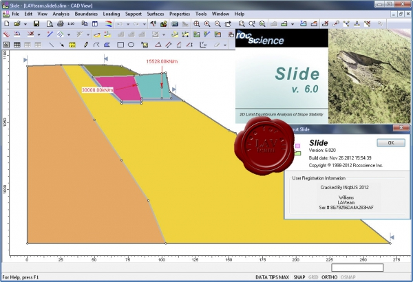 Rocscience Slide v6.020