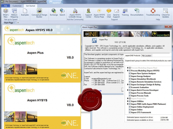 Aspen Technology aspenONE v8.0 DVD1