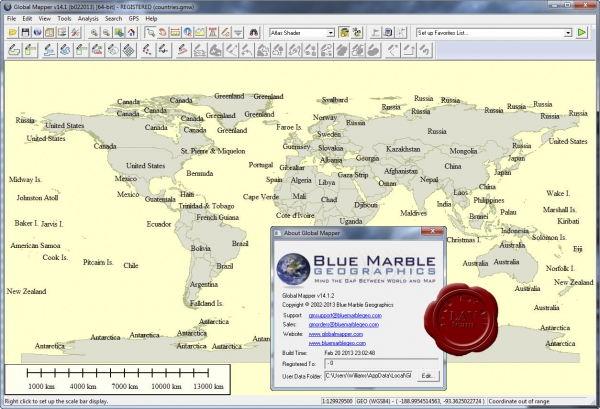 Global Mapper v14.1.2 build 022013