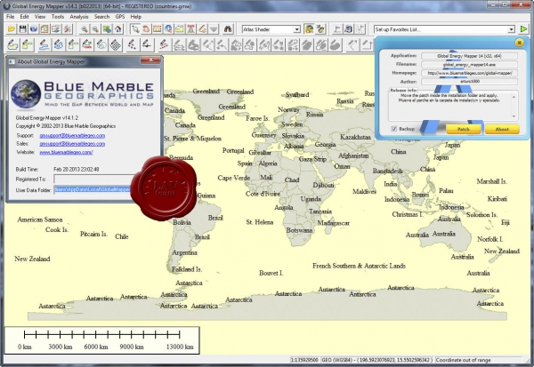 Global Energy Mapper v14.1.2 build 022013