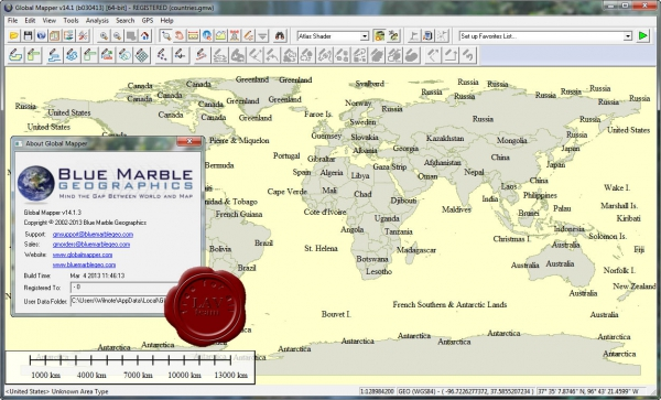 Global Mapper v14.1.3 build 030413
