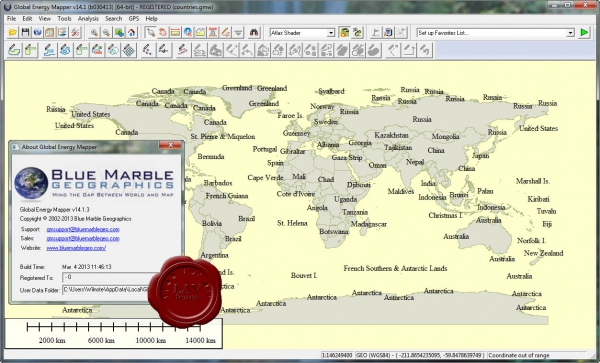Global Energy Mapper v14.1.3 build 030413
