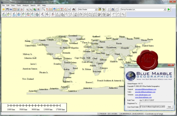 Global Mapper v14.1.5 build 041113