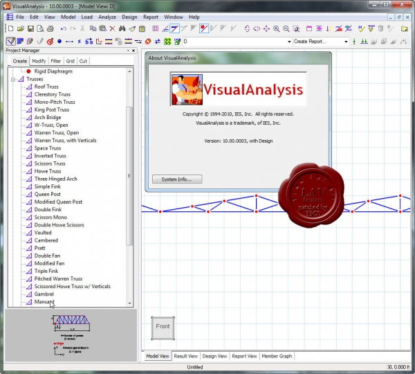 IES VisualAnalysis v10.00.0003
