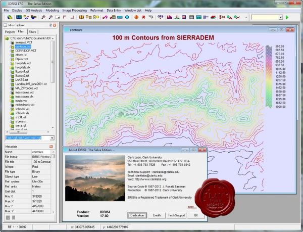 IDRISI v17.02 The Selva Edition