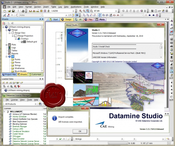 CAE Datamine Studio v3.21.7164.0 english