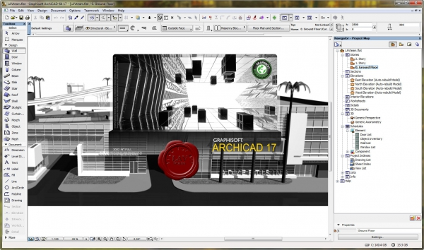 Graphisoft Archicad v17 build 3002