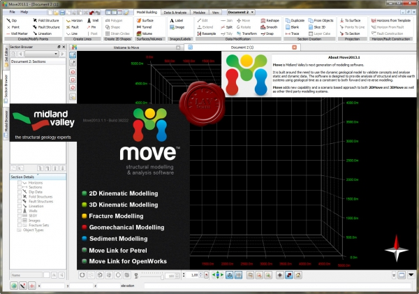 Midland Valley Move v2013.1.1 build 38222