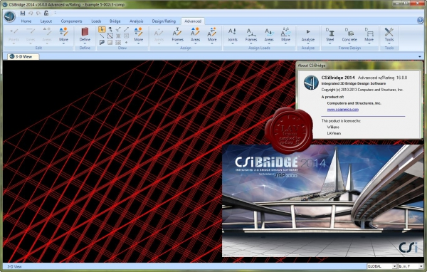 CSI Bridge 2014 v16.0.0