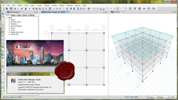 CSI ETABS 2013 v13.1.1 build 1035