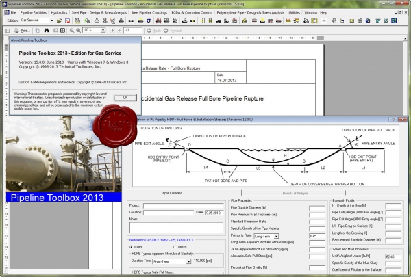 TTI Pipeline Toolbox 2013 Enterprise v15.0.0