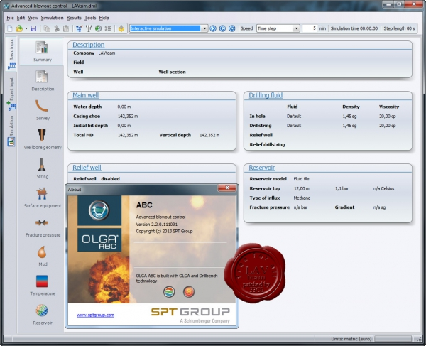 SPT Group OLGA ABC v2.2.0.111091
