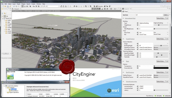 ESRI CityEngine v2013.1 build 131115